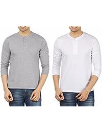 Weardo Men's Cotton T-Shirt (Combo Of 2)
