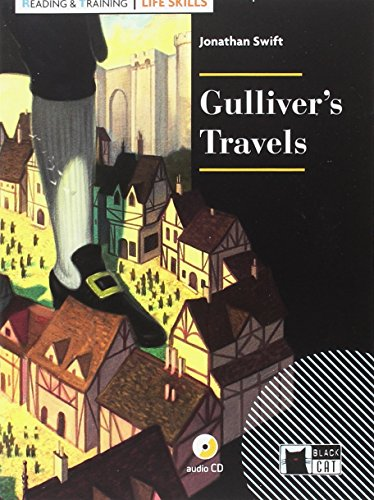 GULLIVER'S TRAVELS+CD LIFE SKILLS (Black Cat. reading And Training) por J. Swift