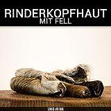 Rinderkopfhaut mit Fell - 1000g - von George and Bobs