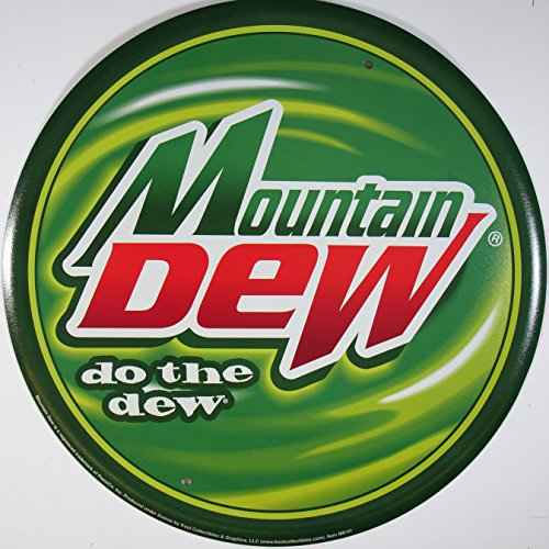 mountain-dew-rund-blechschild-flach-neu-30x30cm-s1692