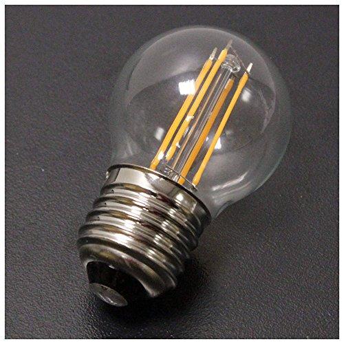Cablematic A50 LED Glühbirne E27 4W warmes Licht 230VAC klassische Art Filament Typ A - Klassische 4-licht