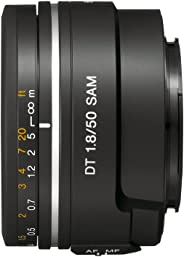 Sony 50mm F/1.8 Prime Lens for Sony DSLR Camera