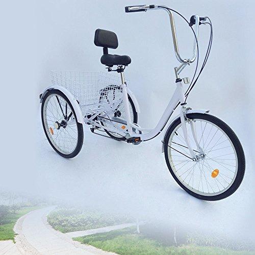 Z&Y 3–Triciclo para Adultos 24Adultos