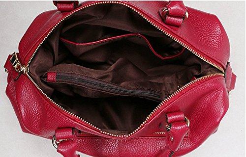 Keshi Leder Niedlich Damen Handtaschen, Hobo-Bags, Schultertaschen, Beutel, Beuteltaschen, Trend-Bags, Velours, Veloursleder, Wildleder, Tasche Grau