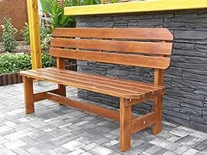 massivholz gartenbank orb kiefer unbehandelt b 150 cm holz 32 28 mm. Black Bedroom Furniture Sets. Home Design Ideas