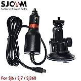 Original SJCAM SJ7 Accessory 1.5m Charger Cable and Bracket Sucker Holder for SJ6 Legend SJ7 Star 4K WiFi Sport Action Camera DV