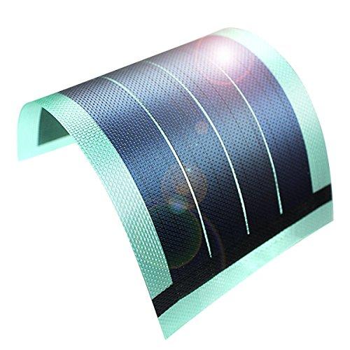 """Especificaciones: Potencia de salida: ~ 6V @ 1W (~ 160mA) Tipo de salida: DC Voltaje Tamaño: 100mm/3.94""""x 198.43mm/7.81x 0,77mm/0,03"""" Rango de temperatura de funcionamiento: + 32a + 158°F (0a + 70°C) Peso: 27g Material: Embalaje montaje..."""