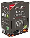LotusGrill lk-1000-b-carbón in Box Karton 1kg