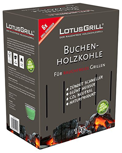Preisvergleich Produktbild LotusGrill lk-1000-b-carbón in Box Karton 1kg