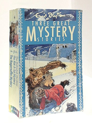 Three Great Mystery Stories:Rubadub Mystery,Rat-a-tat Mystery and Ragamuffin Mystery (Three-in-one) por Enid Blyton