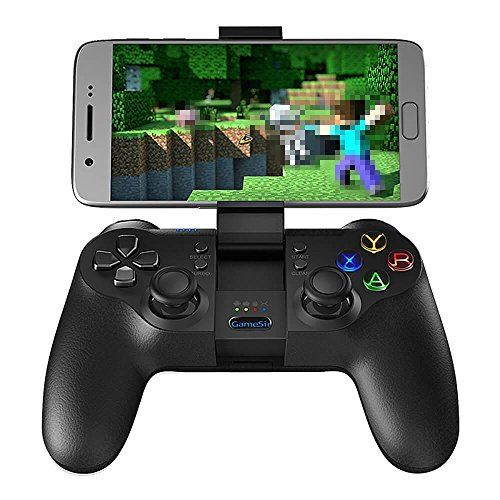 GameSir T1s Erweiterte Edition Drahtlose / Wired Gamepad Game Controller 2.4GHz Bluetooth 4.0 für iOS / Android / PC / PS3 - Schwarz