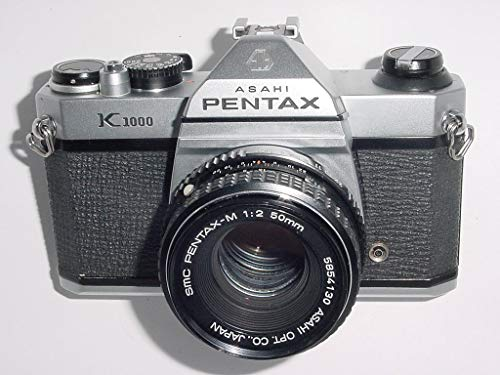 Pentax K1000 mit 50 mm F2 SLR Kamera 35 mm - gewartet (35mm-kamera Pentax)