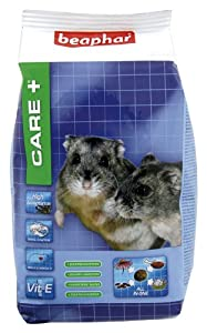Beaphar Care+ Dwarf Hamster Food 250 g (Pack of 5)