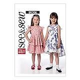 Butterick Pattern 6306 A Children's/Girls Dress Sewing Pattern, Sizes 2-8