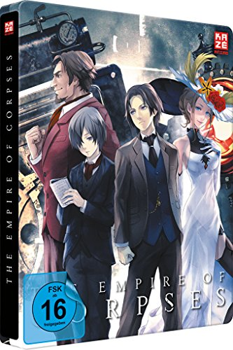 The Empire of Corpses – Project Itoh Trilogie Teil 1 – Steelbook  (2 Disc DVD und Blu-ray Collector´s Edition) [Collector's Edition]