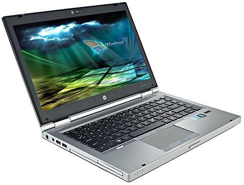 HP Elitebook 8460p Business Notebook # 14.1in WUXGA+ , Intel Core i5 2.5GHz , 4GB RAM , 320 GB HDD, WLAN, BT, USB 3.0, Win7 Pro, (Generalüberholt) - Monitor Mit Hp Gebrauchten Computer