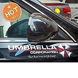 2 X UMBRELLA CORPORATION (Farbwahl) XL AUTO Resident Logo AUFKLEBER 40cm Kralle Claw Auto Tuning Styling Motorrad