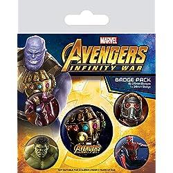 Marvel - Badge Pack Avengers Infinity War