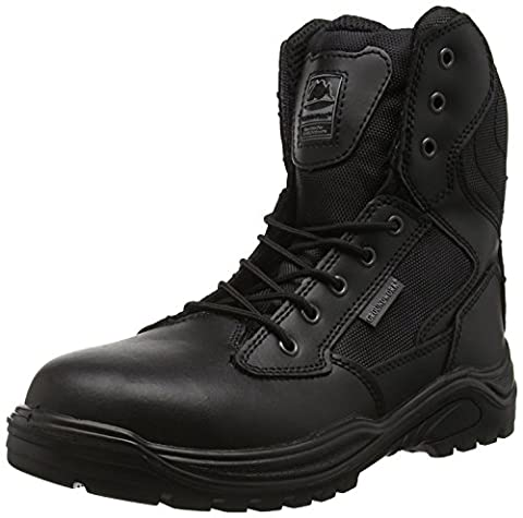 Steel Toe Cap Combat Tactical Safety Ankle Boot Security Military Police Boot 10