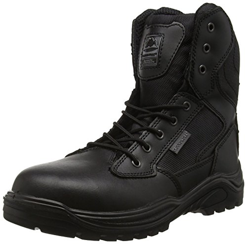 Steel Toe Cap Combat Tactical Safety Ankle Boot Security Military Police Boot...