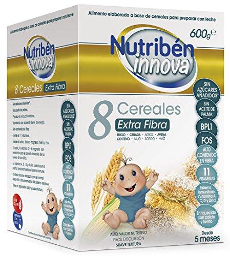 Nutribén Papillas Innova 8 Cereales Extrafibra Desde
