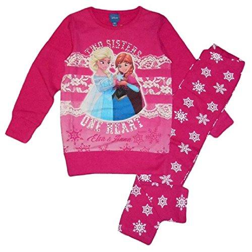 Disney frozen - completo maglia lunga e leggings bambina (4 anni)