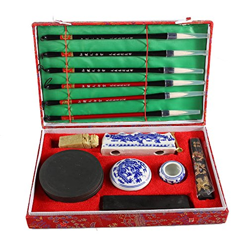 Grand Coffret Initiation à La Calligraphie Asiatique