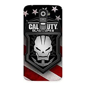 Enticing Duty Calling Back Case Cover for LG G2