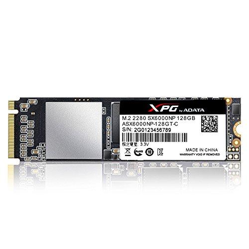 ADATA XPG SX6000 - Solid-State-Disk - 128 GB, ASX6000NP-128GT-C -