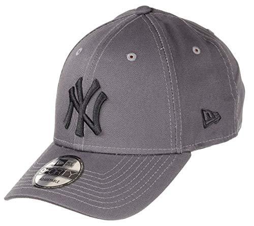 New Era New York Yankees MLB Cap New Era 9forty Verstellbar Baseball Grau Schwarz - One-Size