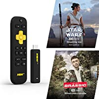NOW TV Smart Stick with 1 month Entertainment Pass and 1 month Sky Cinema Pass | HD Streaming Media Player – Watch Disney+, YouTube, Netflix, BBC iPlayer