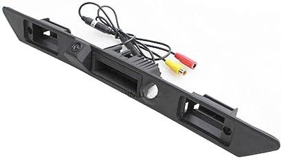 Dynavision Wasserdicht 170° umkehrbare Fahrzeug-spezifische Griffleiste Kamera integriert in Koffergriff Rückansicht Rückfahrkamera für A3 A4 A6L A8L A8 Q7 A4 B6 C6 B7 8E 8H Q5 Q7(Modell 1, 200mm)