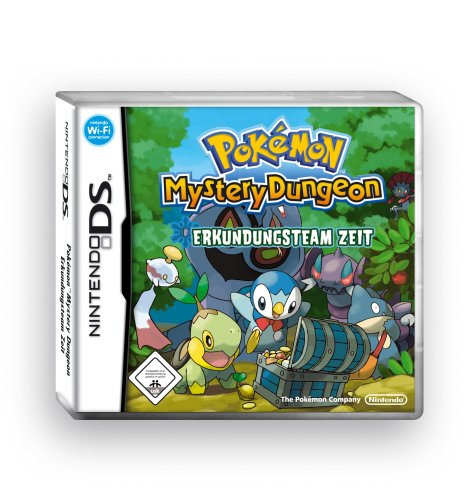 Pokémon Mystery Dungeon: Erkundungsteam Zeit Pokemon Ds Spiele Mystery Dungeon