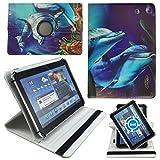 Delphin Tablet Tasche Schutz Etui Hülle für 10 Zoll Jay-Tech / CANOX Tablet PC 101