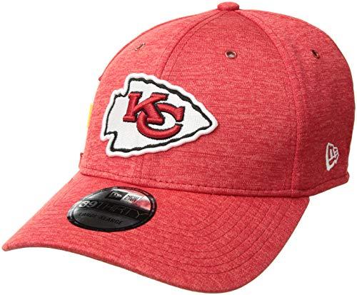 fbdf9872 New Era NFL Kansas City Chiefs Authentic 2018 Sideline 39THIRTY Stretch Fit  Home Cap, Größe :S/M