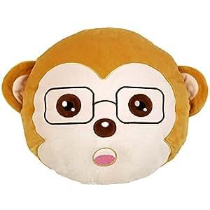 Affe runden kissen kissen ausgestopft pl sch weich for Kissen amazon