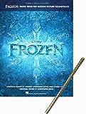 Frozen - Die Eiskönigin - völlig unverfroren - Notenausgabe zur Filmmusik für Klavier, Gitarre und Gesang mit metallicfarbenem Glitzer-Bleistift [Noten/sheet music] [PVG]