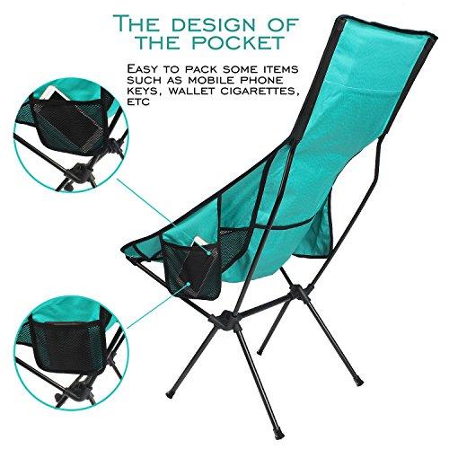 lightweight folding camping beach chair fbsport compact heavy duty
