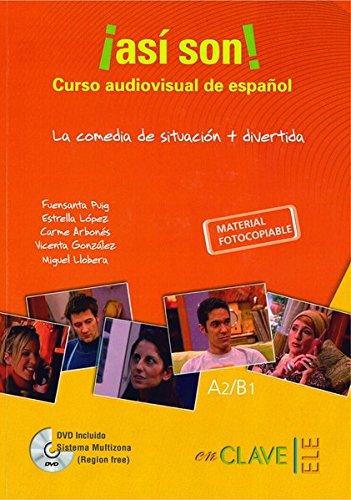 ¡Así son! Curso audiovisual + DVD (A2-B1)