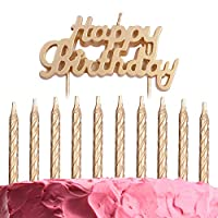 GET FRESH Birthday Candle Set - 11 pack
