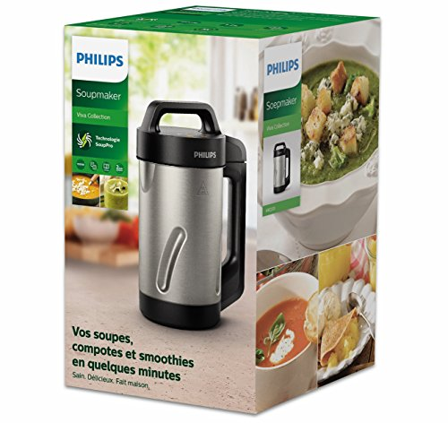 Philips HR2203/80 Blender chauffant Inox 1,2 L 1000 W