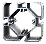 Aluminium T-Nuten Ständerprofil PS75, vierkant, 5 Stangen, 3m/Stange
