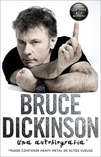 Bruce Dickinson: Una autobiografía (Música y cine)