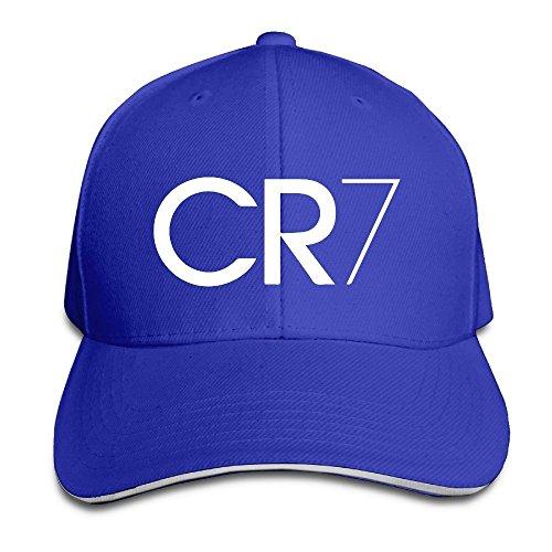 c6697fe26e751 Trithaer Custom CR7 Logo Adjustable Sandwich Hunting Peak Hat   Cap