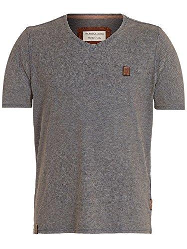 Naketano Male T-Shirt Schimpanski VI heritage indigo blue mela