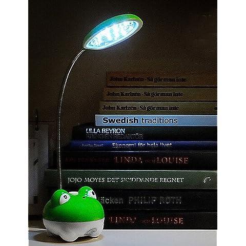 ZSQ CARGA AJUSTABLE plegable moderna lámpara de escritorio Lámpara de mesa de luz de lectura LED recargable #905.