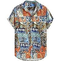 YWAWJ Hombres Camiseta Humor Gráfico Impreso Camiseta Serigrafiada Traje de Calle Manga Corta Floja Imprimir (Size : Medium)