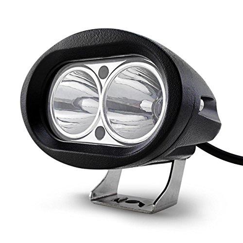 GRFH 20W führte Motorrad-Lampe Refit Lampe Elektrische Auto LED Scheinwerfer Externe Scheinwerfer Ultra helle Blendung Licht-Strahl 12V wasserdicht Ip67 / 6000K