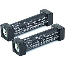 2x subtel® Batería premium para Sony MDR-RF800, -RF820, -RF885, MDR-RF920, -RF925, -RF960 MDR-DS3000, MDR-IF240, -IF3000, -IF540, BF-TDSY (700mAh) BP-HP550,1-756-316-21 bateria de repuesto, pila reemplazo, sustitución