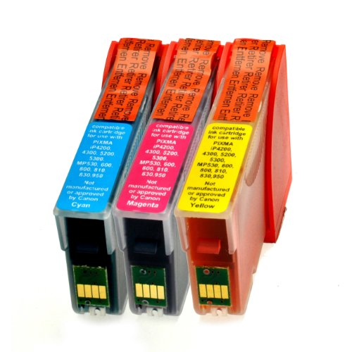 Preisvergleich Produktbild 3 Armor Tintenpatronen f Adapter Canon Pixma CMY - Nr 247-249 yellow 16ml, cyan 16ml, magenta 16ml